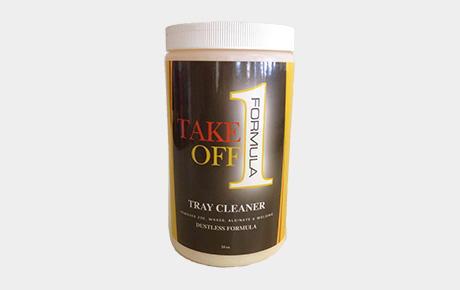 Take Off Formula Tray Cleaner