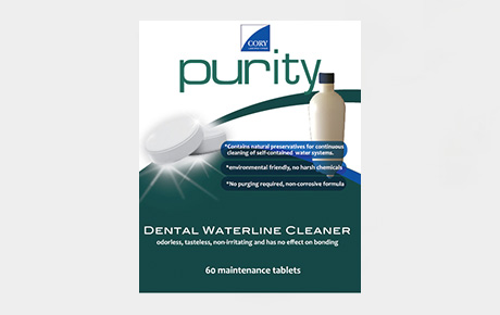 Cory Labs Purity Dental Water Line Cleaner